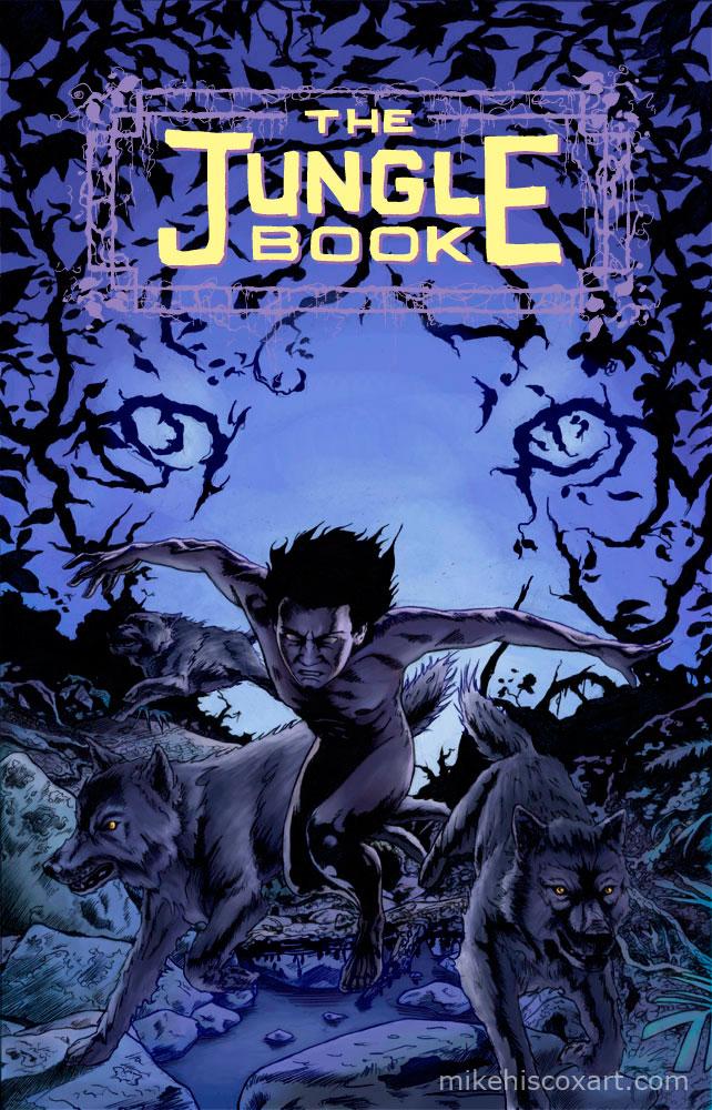 The Jungle Comic Book by Maxahiss