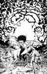 The Jungle Comic Book drawing