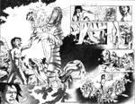 Mowgli's Defense drawing by Maxahiss