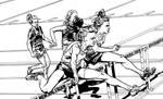 Girls' Hurdles Ink