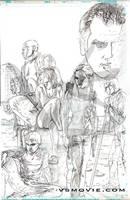VS page 3 pencils by Maxahiss