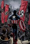 Captain America vs.the Nazis