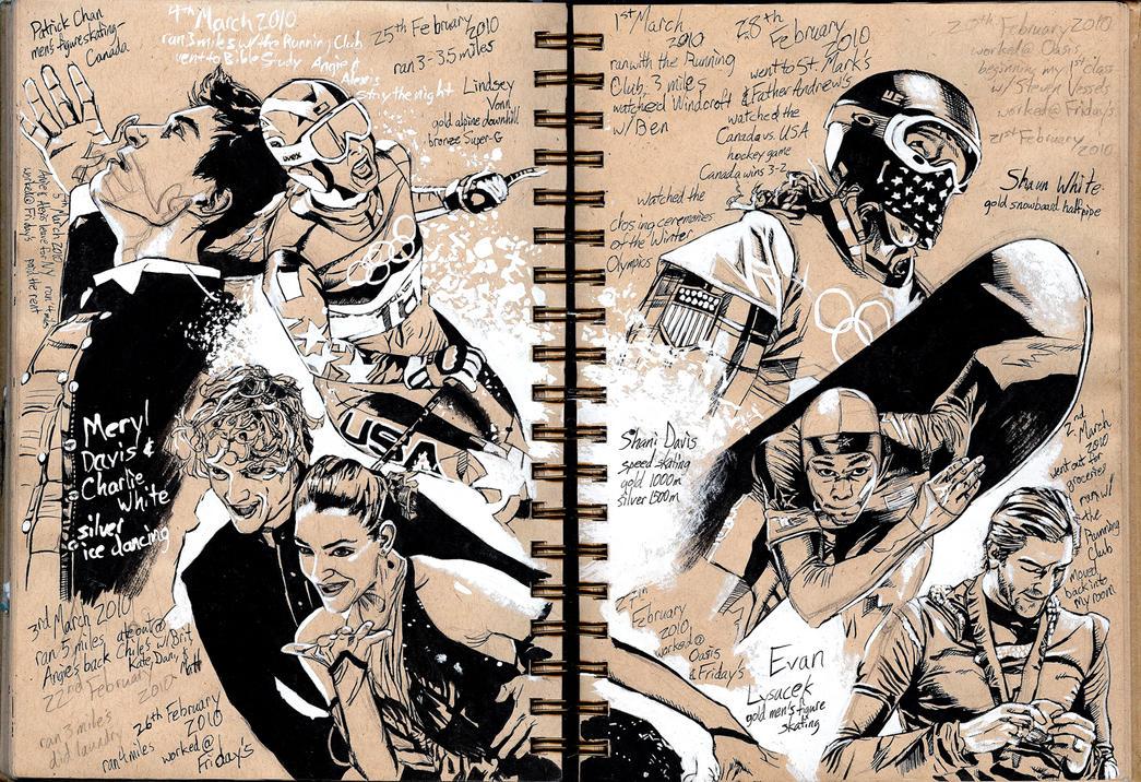 Sketchbook: Olympics 2 by Maxahiss