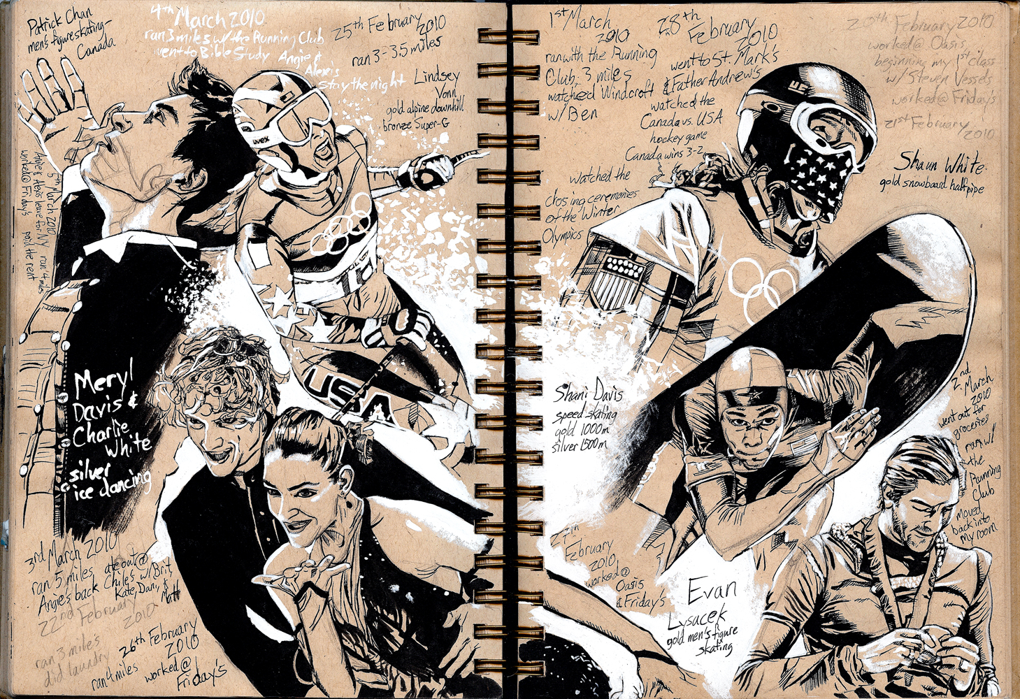 Sketchbook: Olympics 2 by Maxahiss