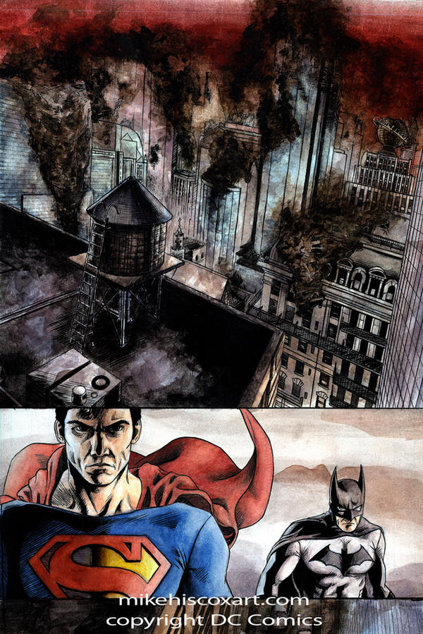 Dark Knight in Darkest Day 1 by Maxahiss