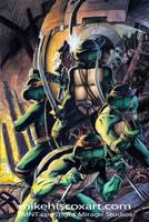 80's Ninja Turtles by Maxahiss