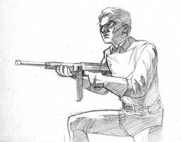 Draw Off No. 1: Bucky by Maxahiss