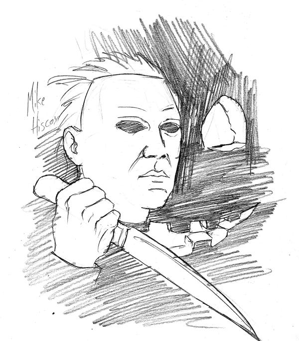 Michael Meyers - Free Coloring Pages