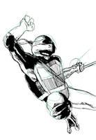 Draw Off No. 23: Ninja Turtle by Maxahiss