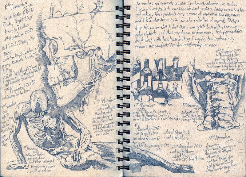 Visual Journal: Anatomy by Maxahiss