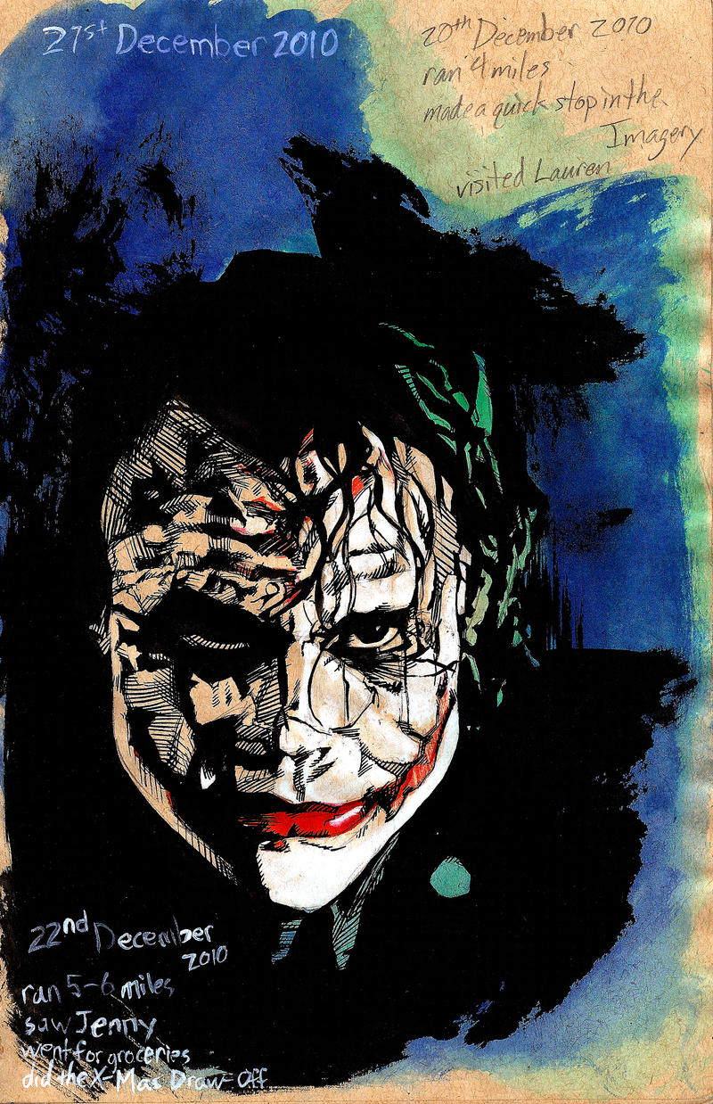 Visual Journal: The Joker by Maxahiss