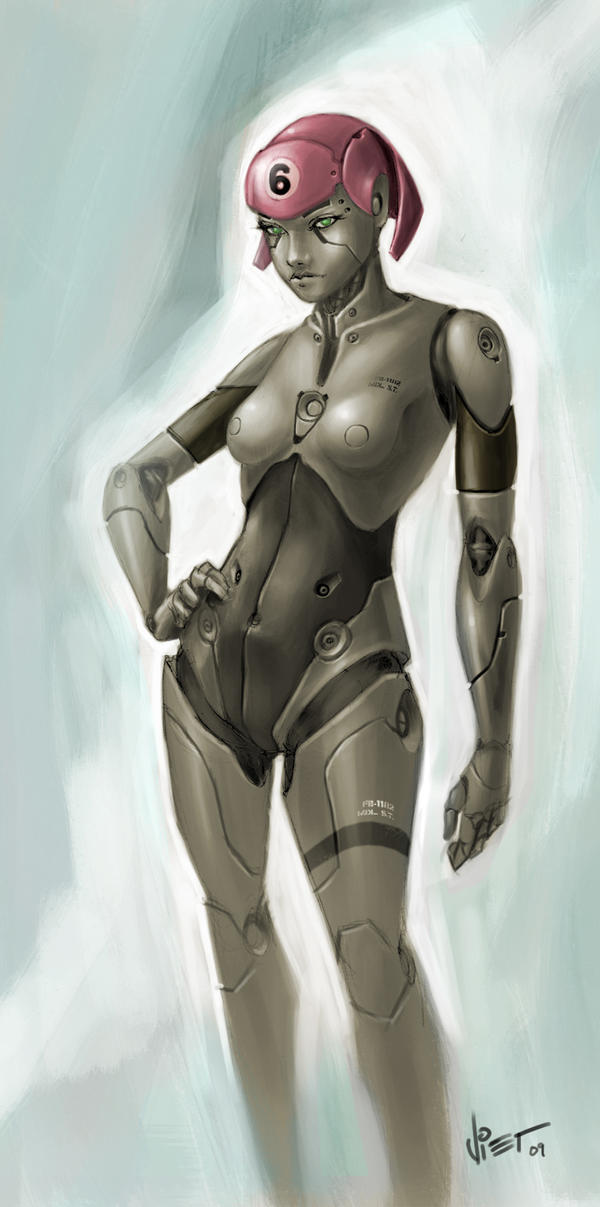 Hot Bot Girl by VietNguyen