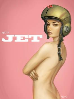 Jet Pin-Up