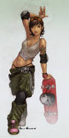 Skater Girl by VietNguyen