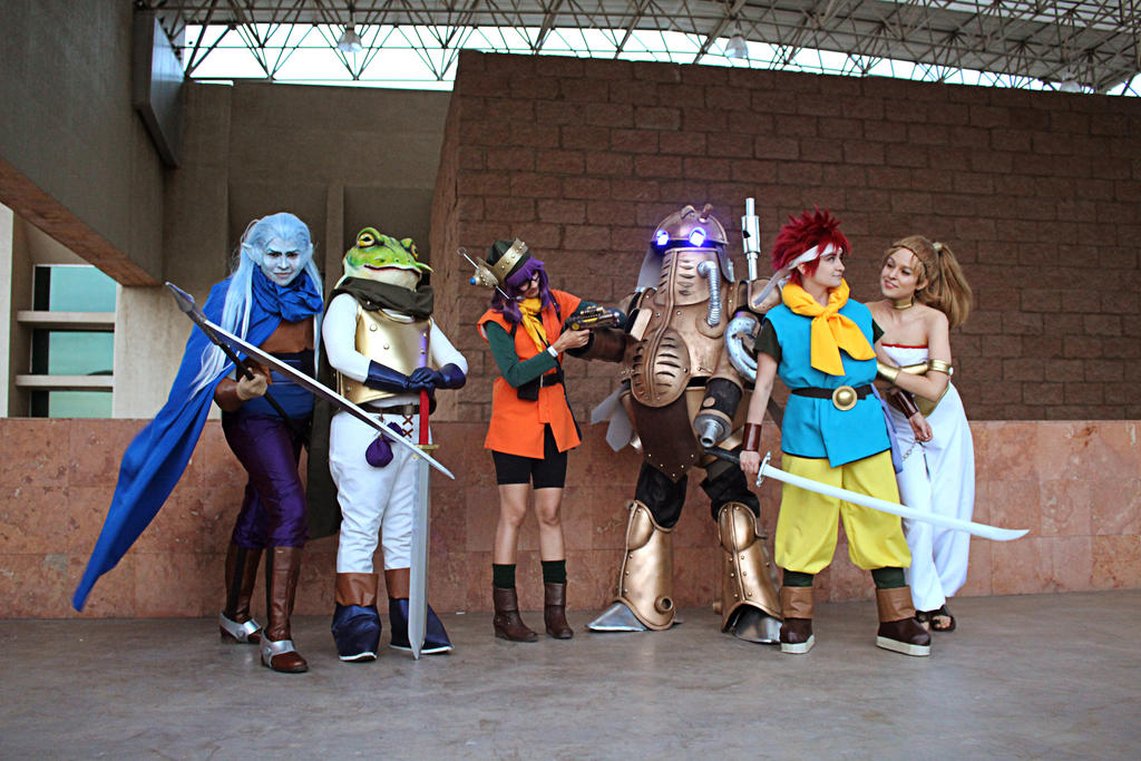 Chrono Trigger party by Heavengreen
