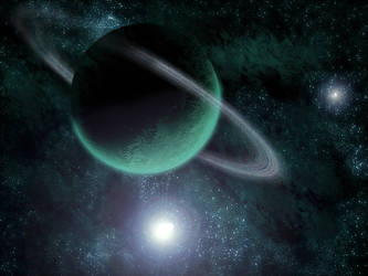 Rings of the Green Planet by SakamotoKaito