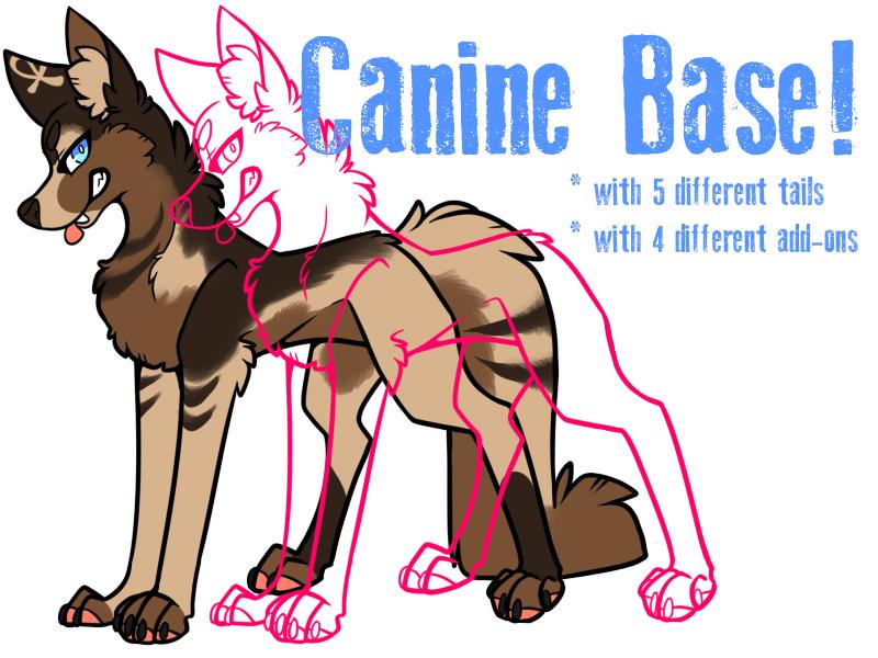 P2U Canine Base by Keesness