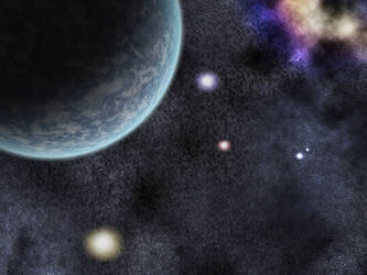 Space Scene by meishe91