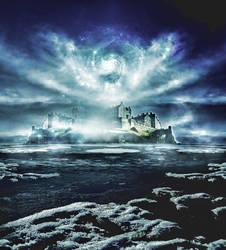 Castle Fantasy Scene by meishe91