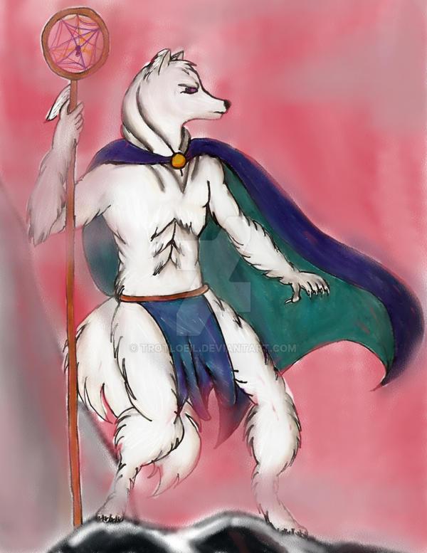 White Wolf Shaman UPDATE by TexacoPokerKitty
