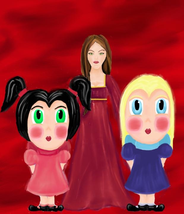 Rhoslyn's Girls Pt. 1 by TexacoPokerKitty