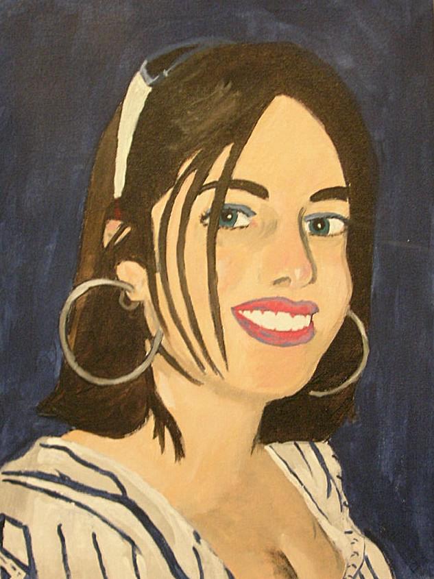 Self Portrait by TexacoPokerKitty