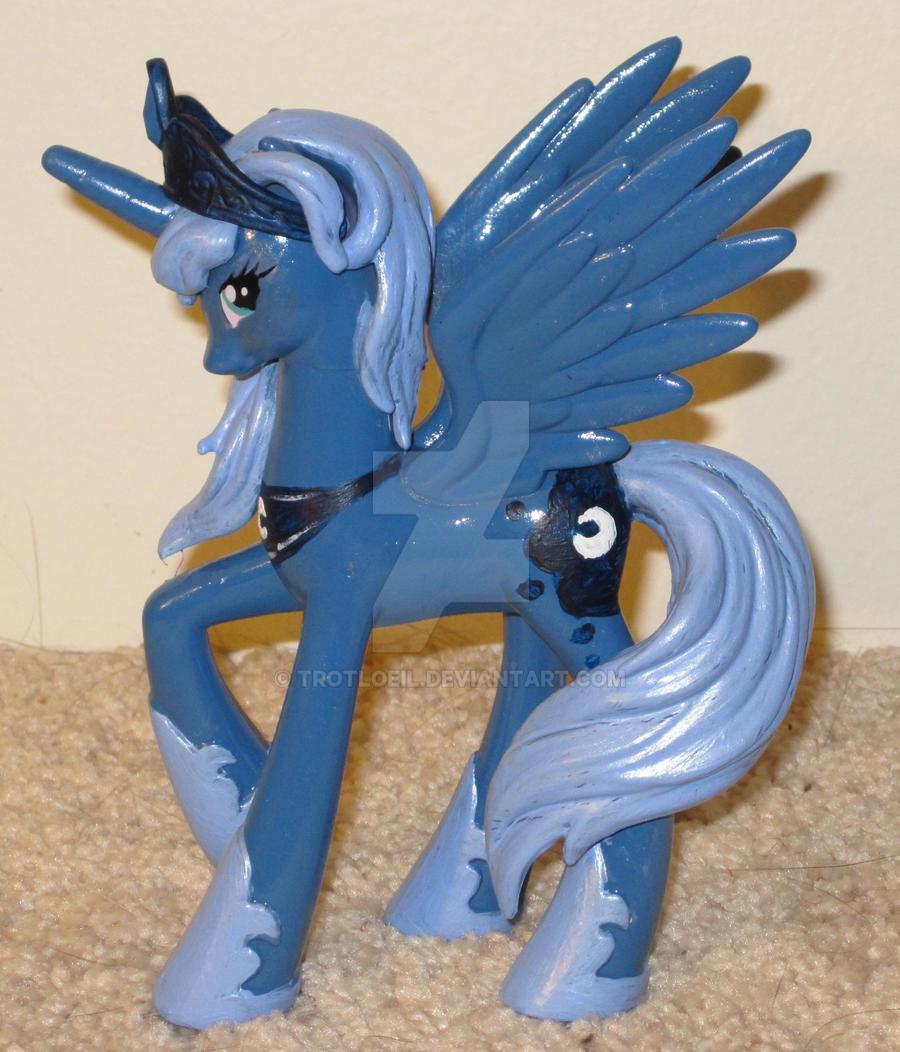 MLP Adult Princess Luna by TexacoPokerKitty