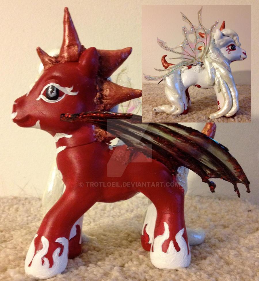 My Little Pony: Good vs. Evil by TexacoPokerKitty