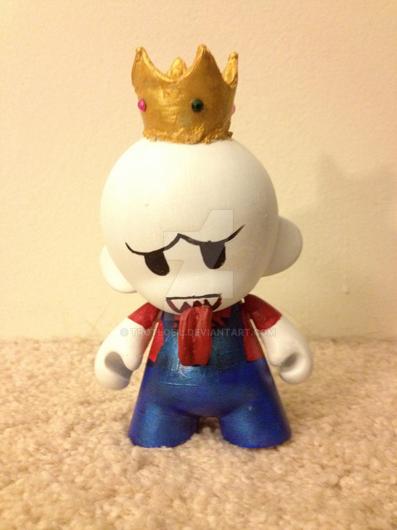 Super Mario King Boo by TexacoPokerKitty