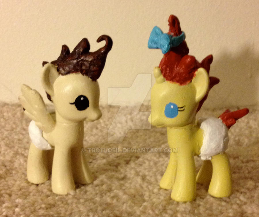 My Little Pony Pound and Pumpkin Cake by TexacoPokerKitty