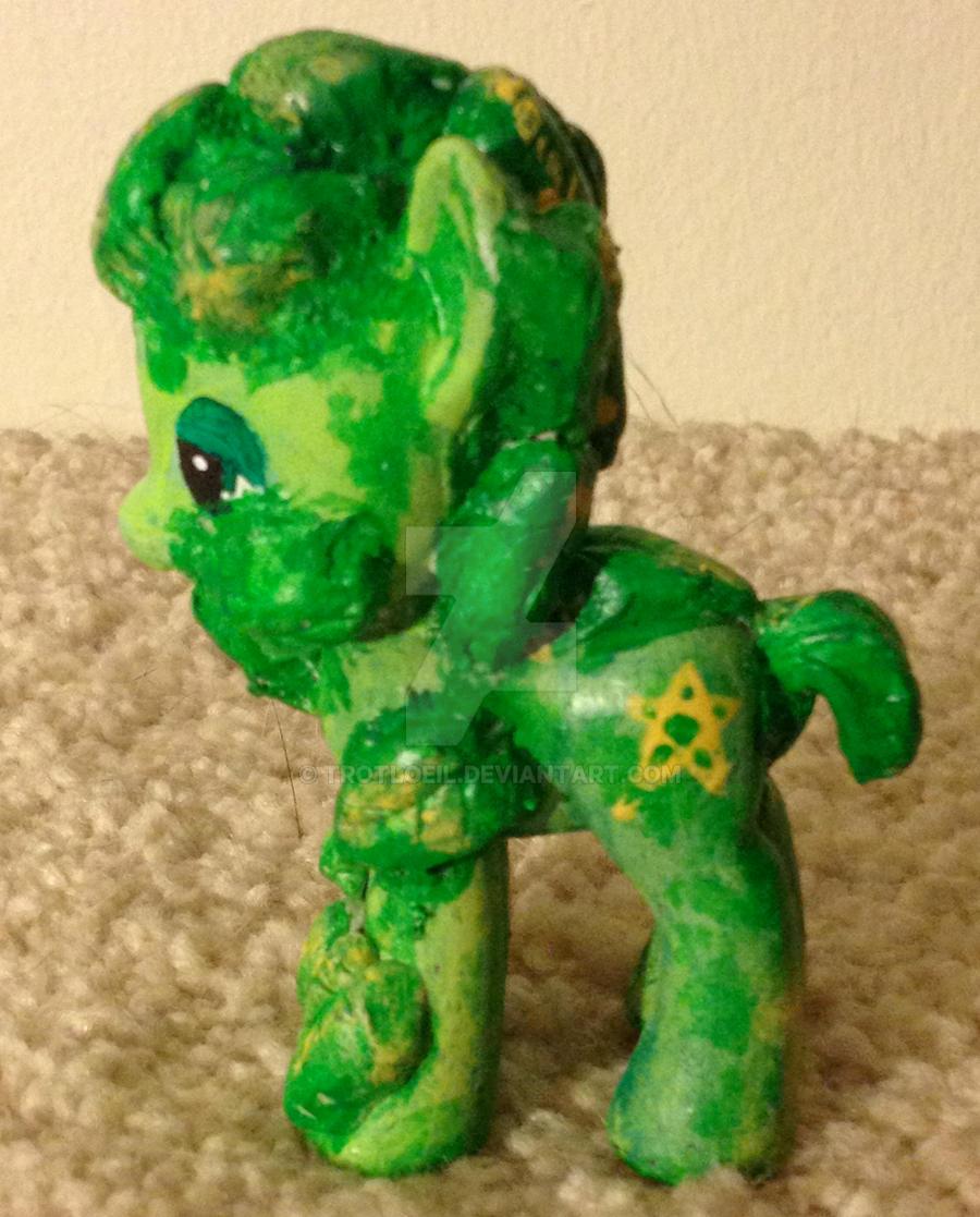 My Little Pony Green Man by TexacoPokerKitty