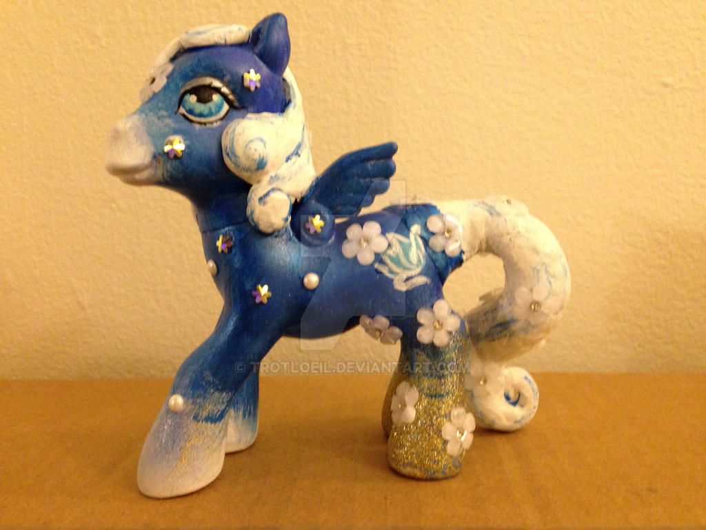 My Little Pony Frost Flower by TexacoPokerKitty