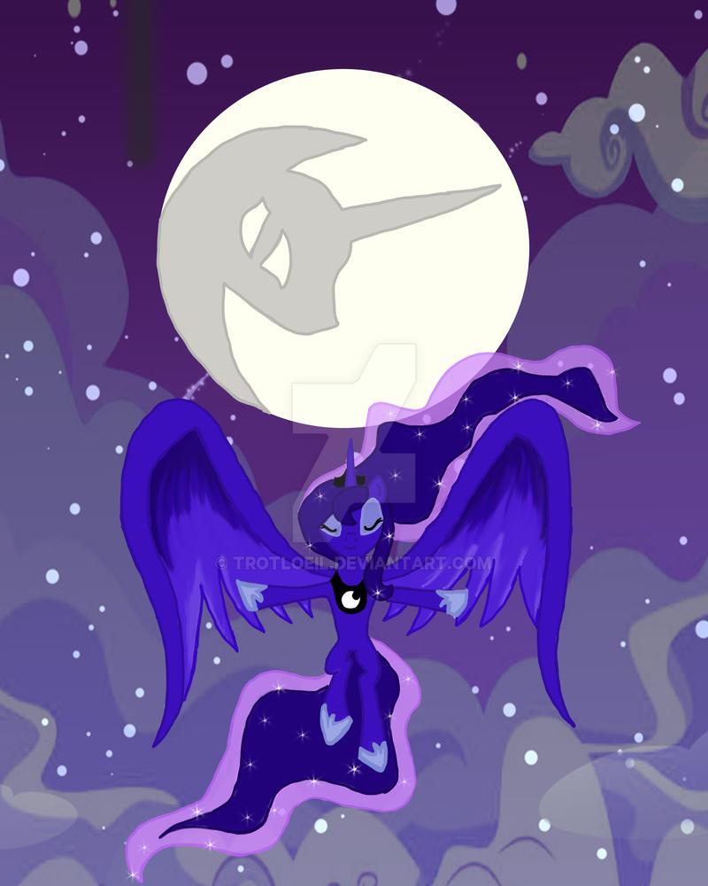 Lunra Raises the Moon by TexacoPokerKitty