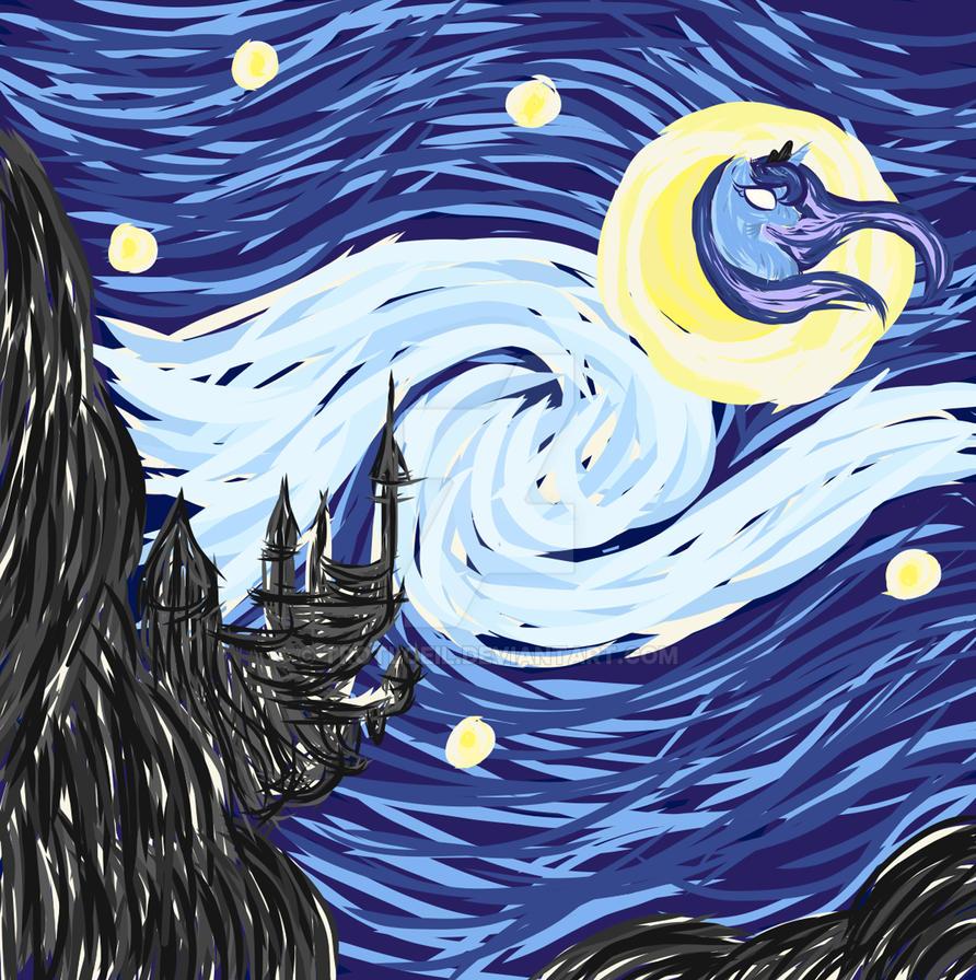 Starry Luna by TexacoPokerKitty