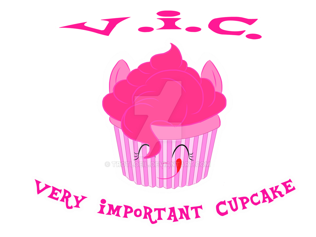 Very Important Cupcake by TexacoPokerKitty