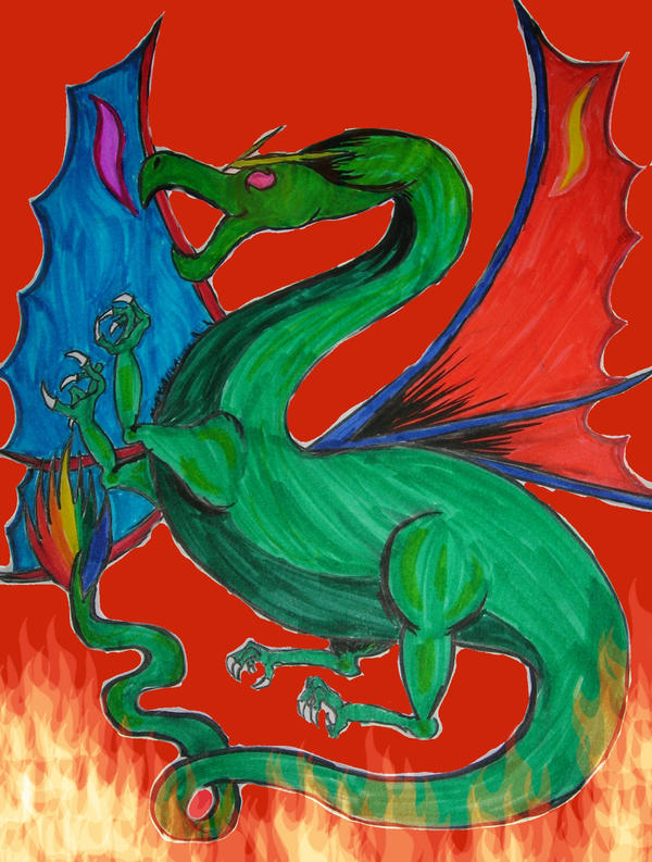 Dragon by TexacoPokerKitty