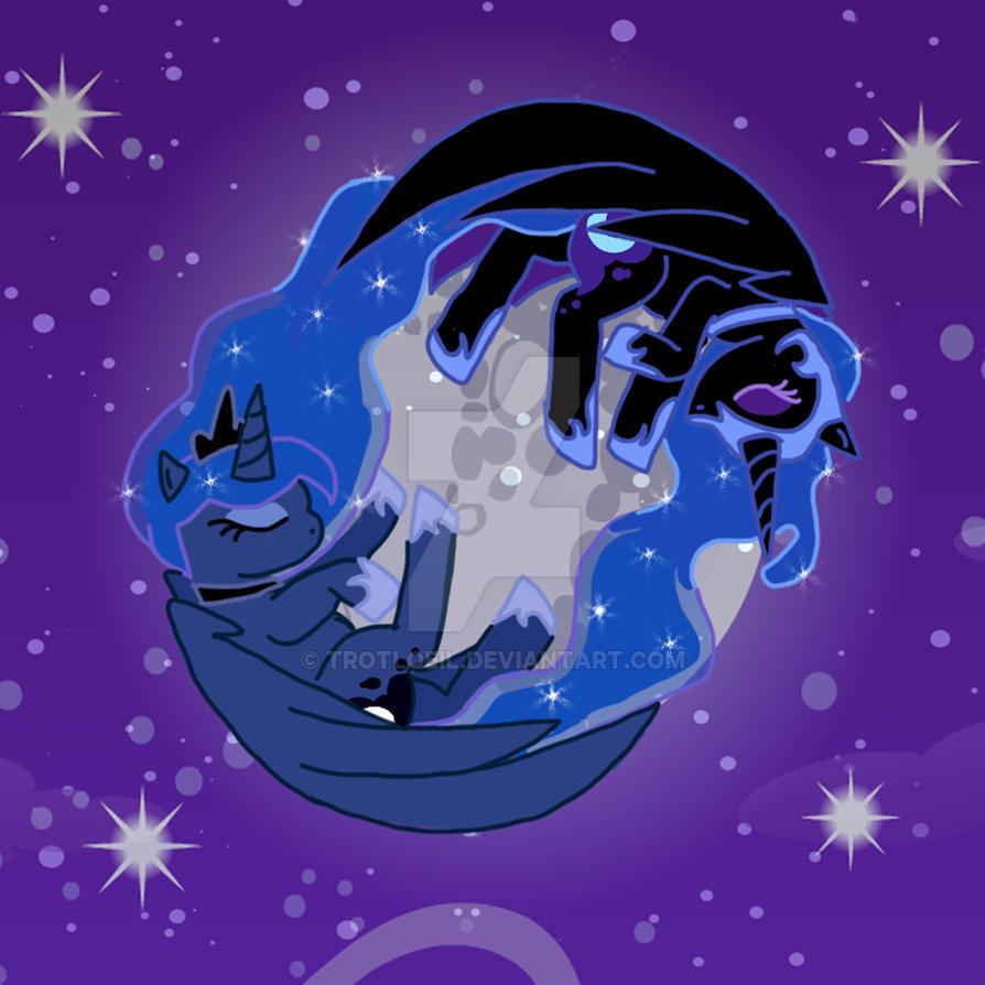 Luna's Nightmare by TexacoPokerKitty