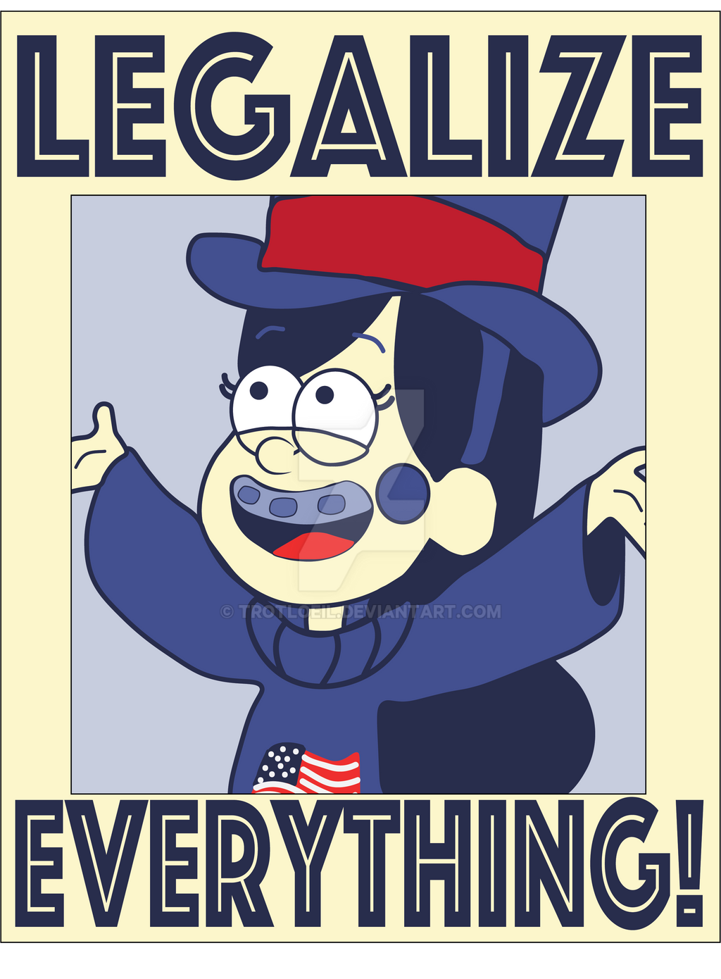 Legalize Everything! by TexacoPokerKitty