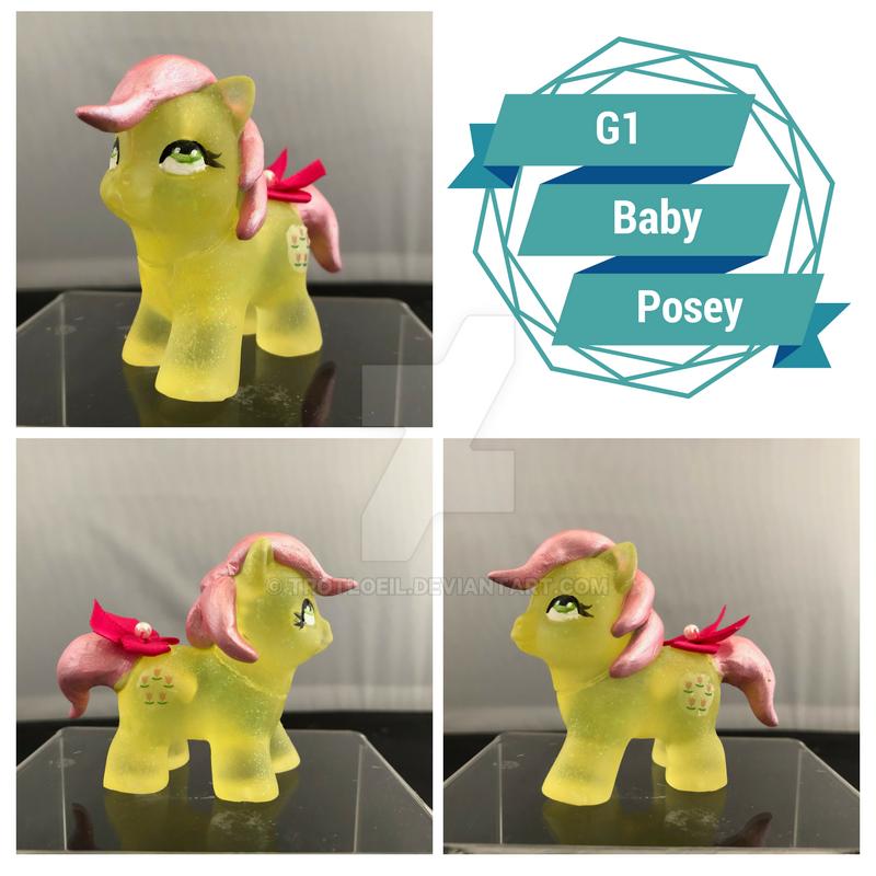 G1 Baby Posey Pony by TexacoPokerKitty