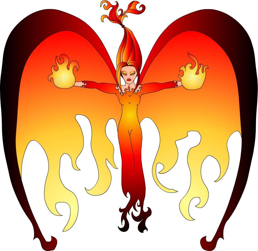 Phoenix Firestorm by TexacoPokerKitty