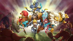 Hyrule Warriors - Onward to battle !