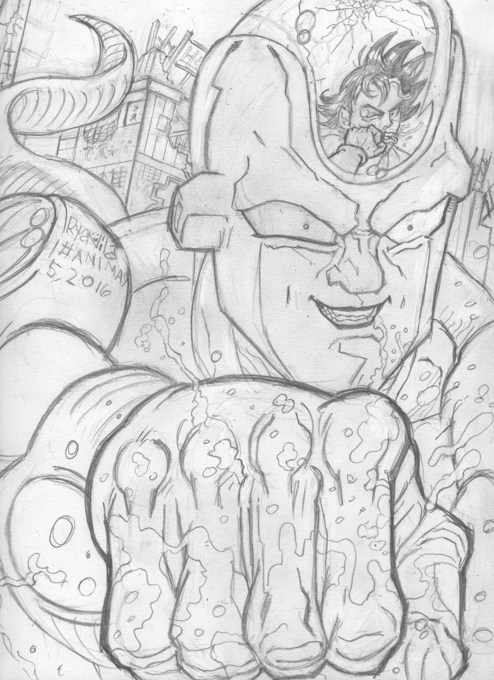 Akira Toriyama S Frieza From Dragon Ball Z By Ryanv80 On Deviantart