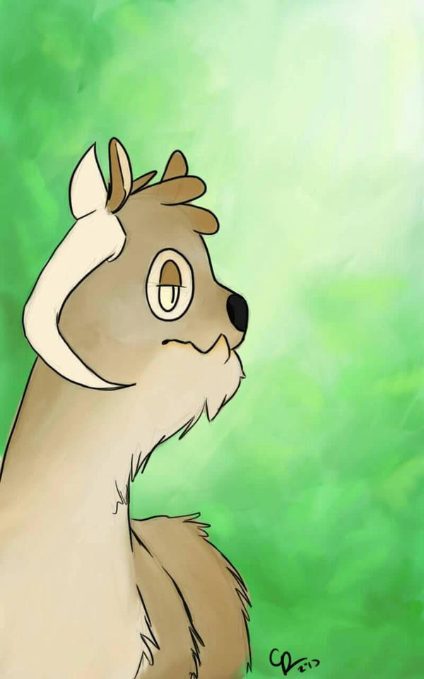forest dweller  by Spool-of-Spagoots