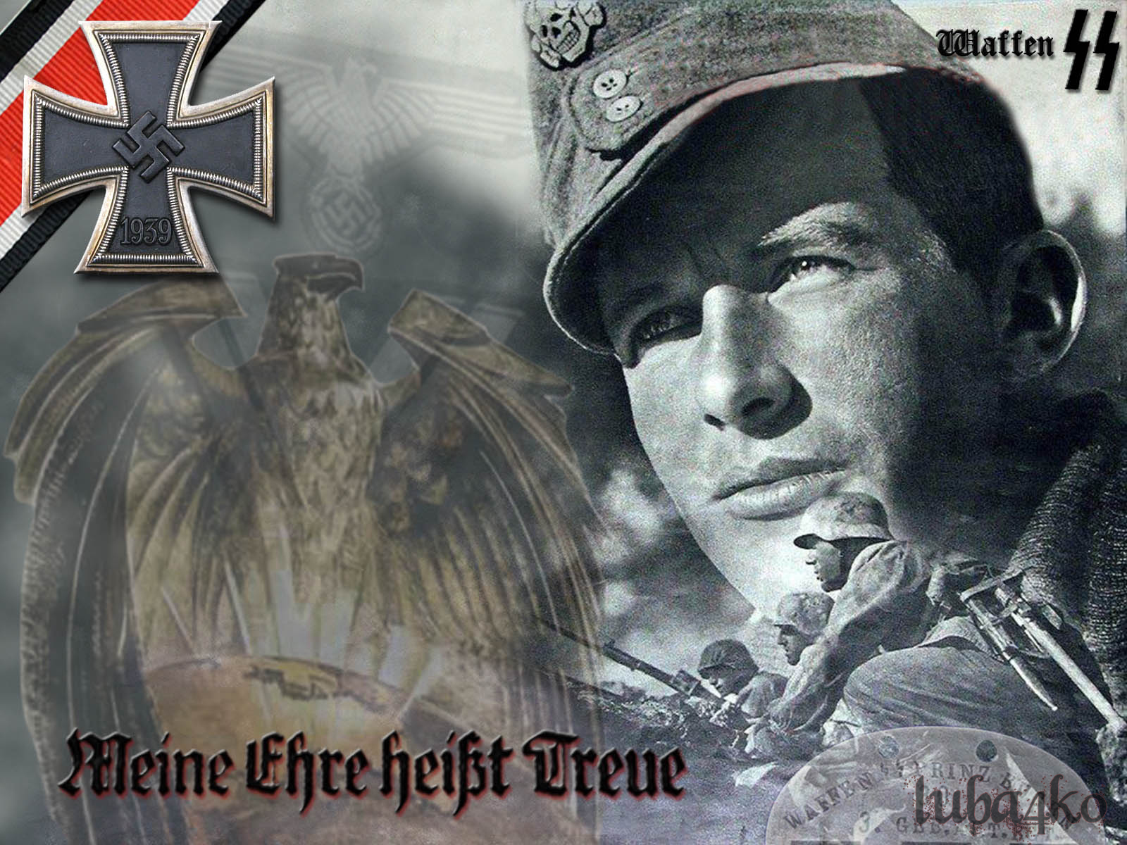 Waffen SS Wallpaper by luba4ko