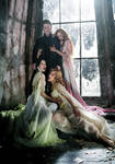 Count dracula ad wifes