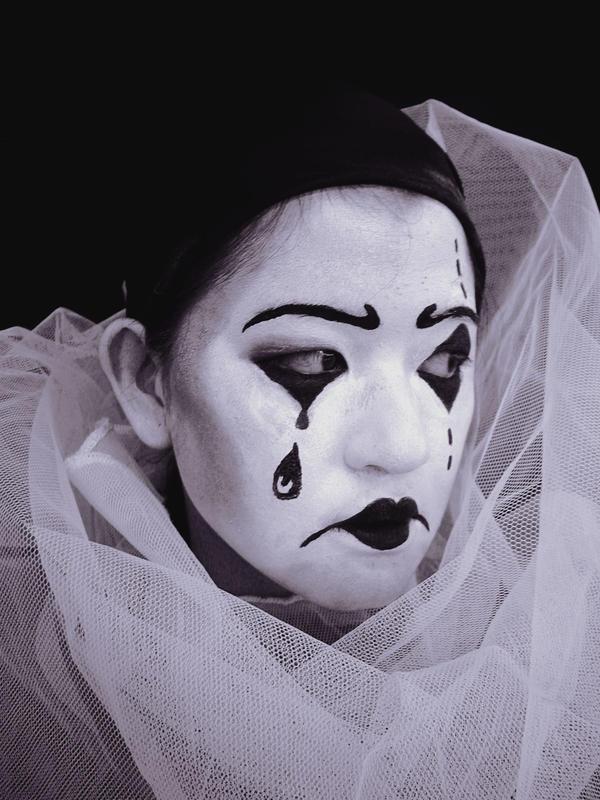 Pierrot or French clown by kiemanime on DeviantArt
