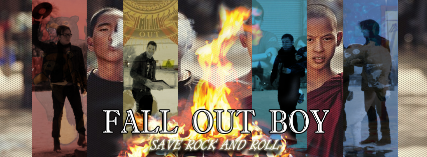 Fall Out Boy -Save Rock and Roll- Biography Cover by ...