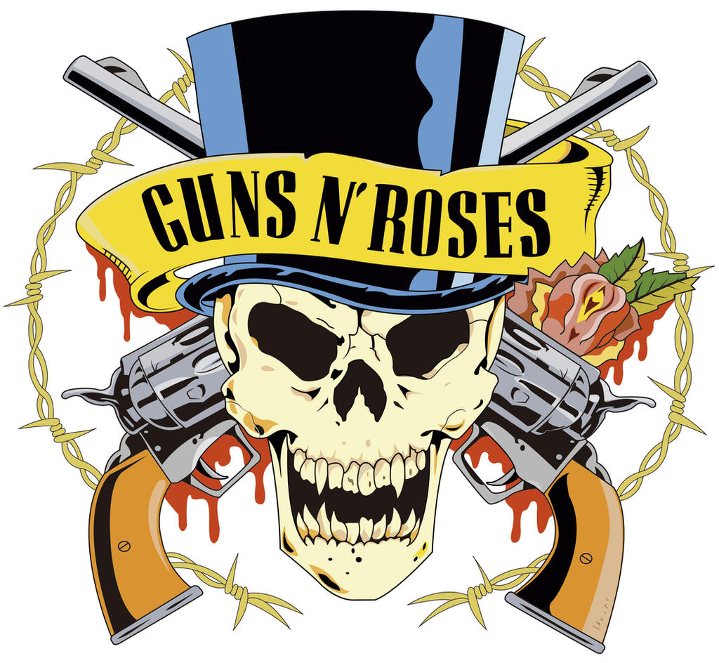 Guns N' Roses Logo Vectorization by DemianDillers on ...