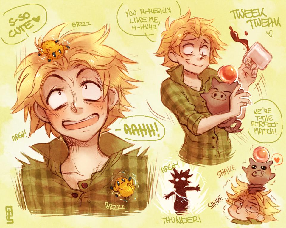 Tweek Tweaks Pokemon by Aishishi