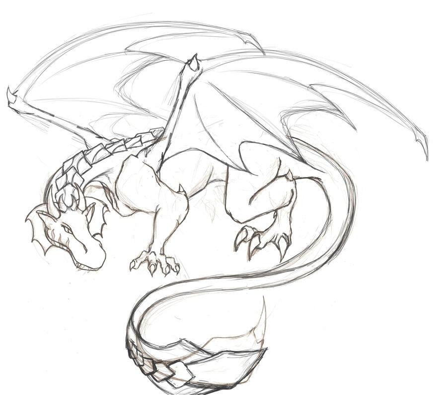 Dragon Nika - WIP by Carasibana